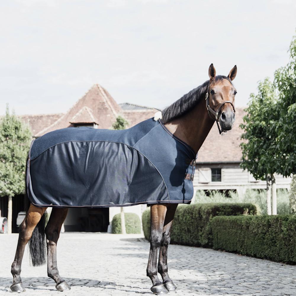 Kentucky Horsewear Mesh Combo Cooler Sheet - navy